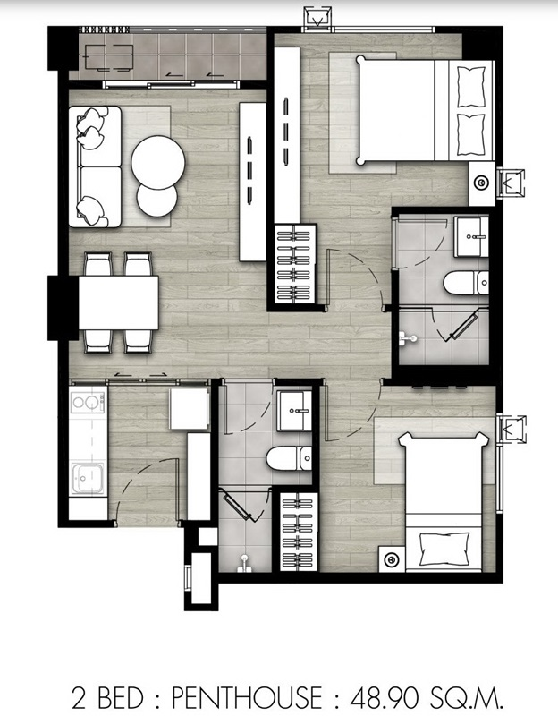 2Bed 48