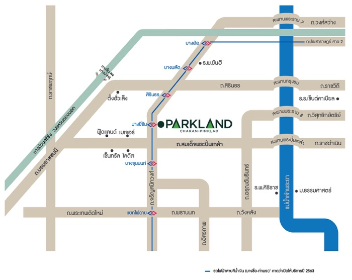 Map the parkland