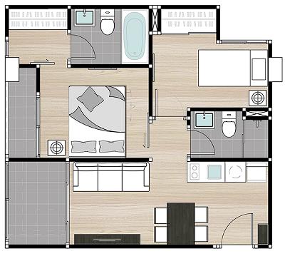 Grand Suite 52 Sq.m.