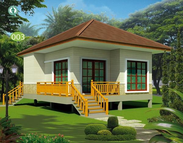 """แจกไม่อั้น! แบบบ้านยิ้มเพื่อประชาชน 120 แบบ ฟรีไม่เสียค่าใช้จ่ายเพิ่มเติม เพิ่มแบบใหม่ """"บ้านสำหรับผู้สูงอายุ"""""""