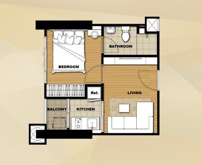 Room 27 - 27.5 sq