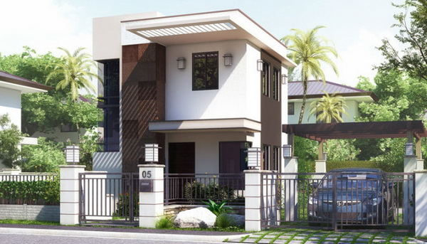 6 5 for Small house exterior design philippines