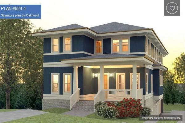 แบบแปลนบ้านสามชั้นสีน้ำเงินตัดขาว สวยสง่า รีวิวคอนโด