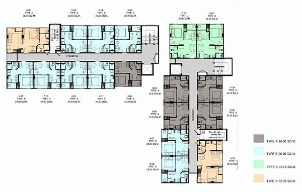 2-4 floor