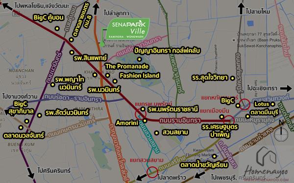 Map อุดม
