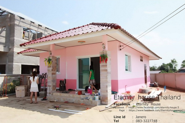 รีวิว : ปลูกบ้านชั้นเดียว Eco House ขนาด 2 ห้องนอน 1 ห้องน้ำ งบประมาณไม่เกิน 4 แสนบาท