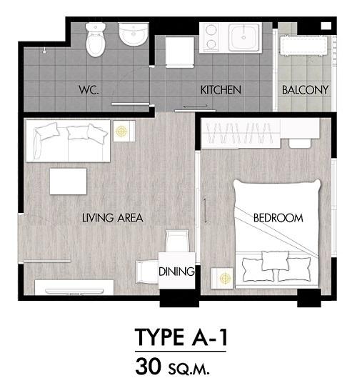 Niche Rama2 f2 Room Type A-1-01