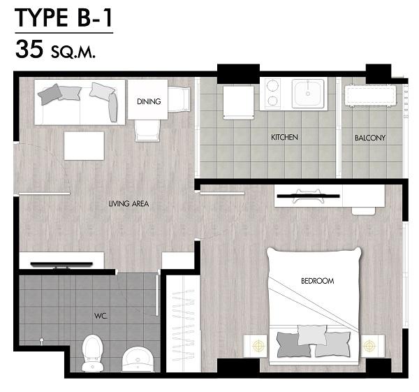 Niche Rama2 f2 Room Type B-1-01