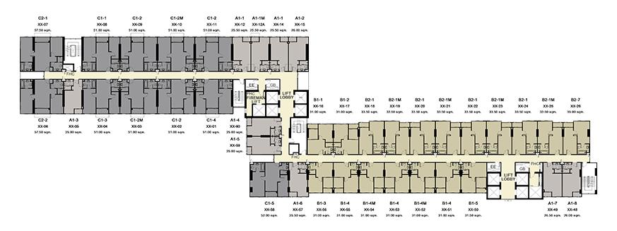 floor-19,21,23,25