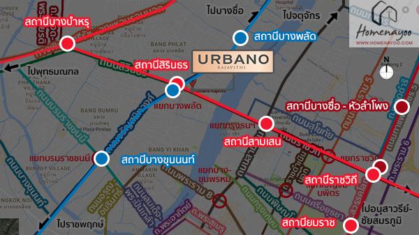 Map BTS