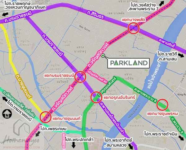 theparkland intersectionmap