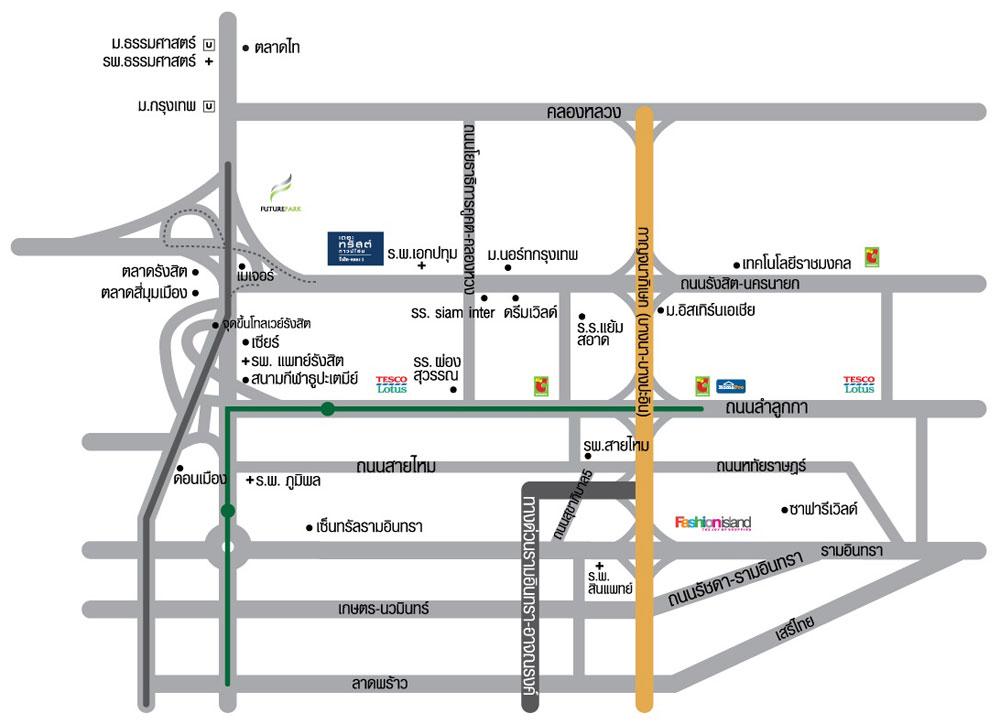 Map The Trust Klong 1