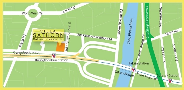 MAP-VILLA-SATHORN