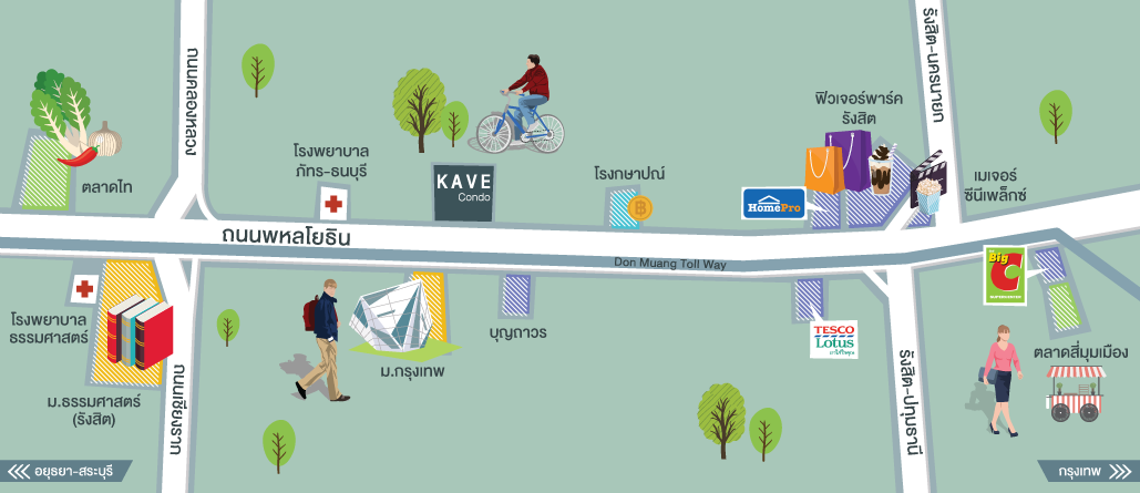 Map Kave Condo
