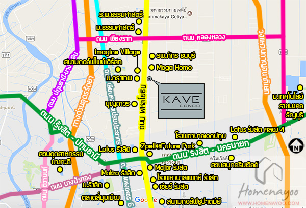 1Kave placemap
