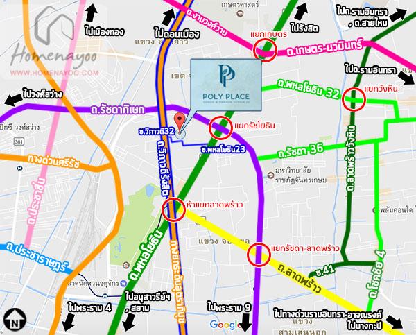 Polyplacewaymap