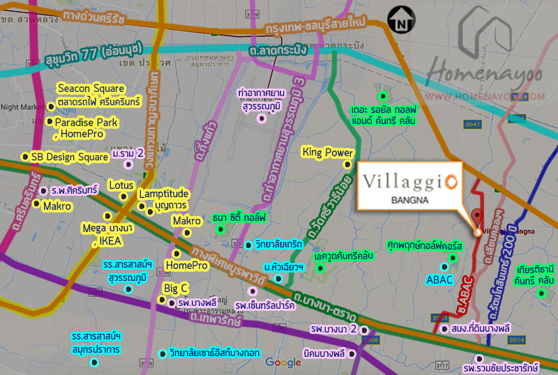 Villaggio Placemap