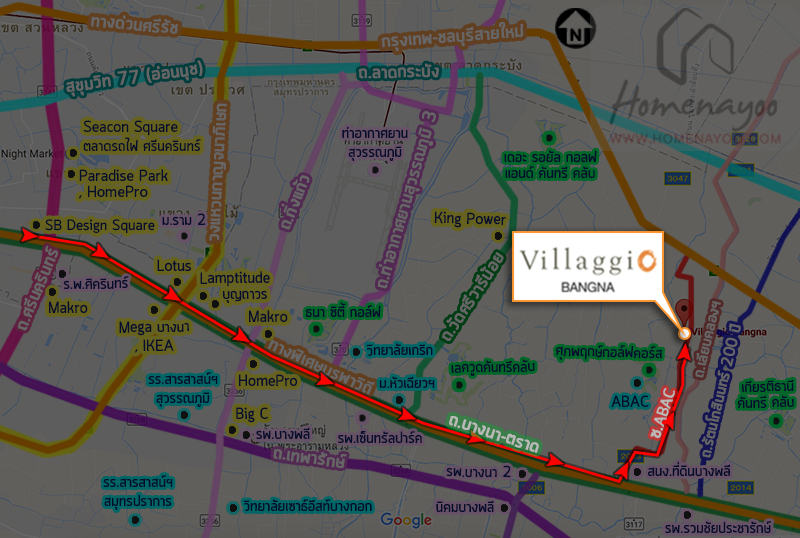 Villaggio waytoPlacemap