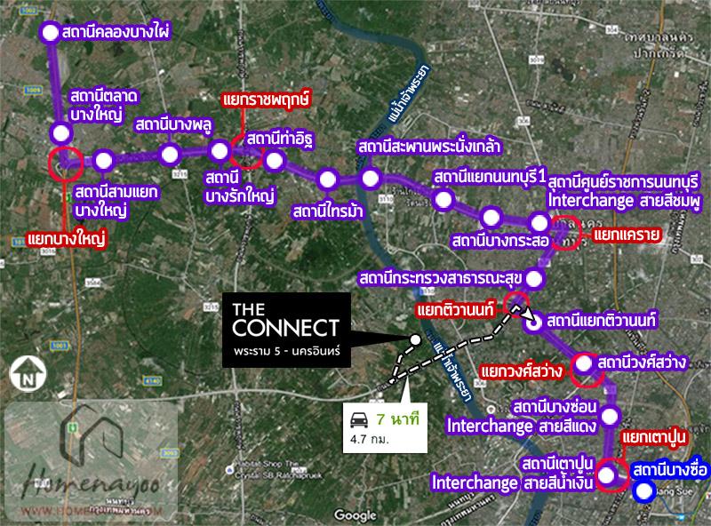 CNrama5purple line map