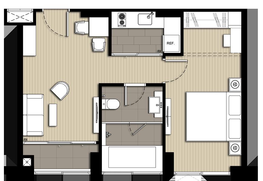 room-B1 45