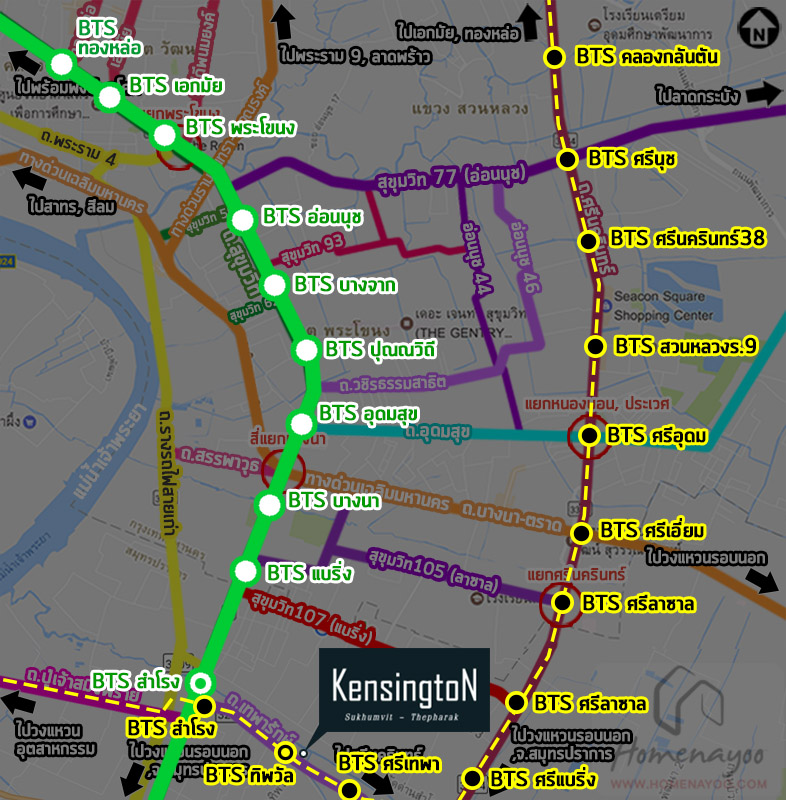 Ken BTS map