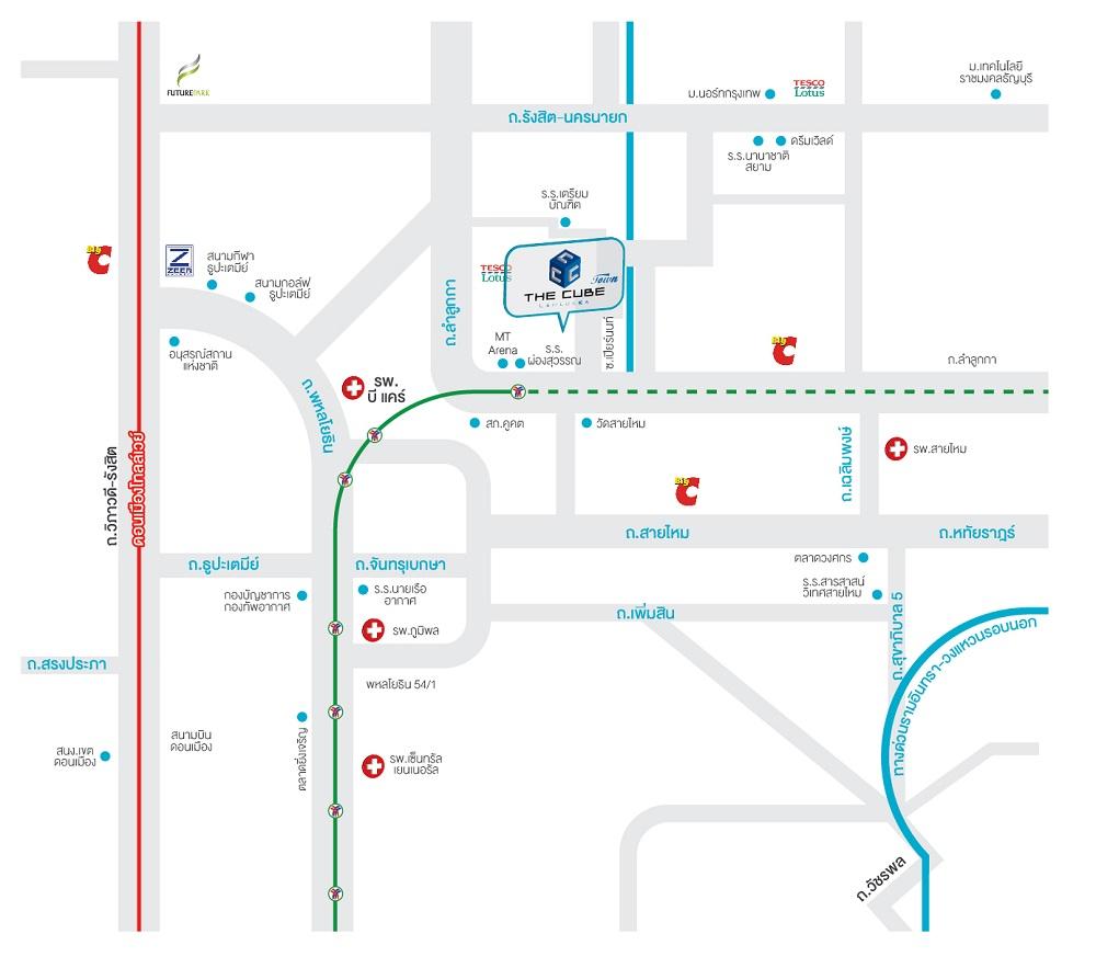 Map-TheCubeTown