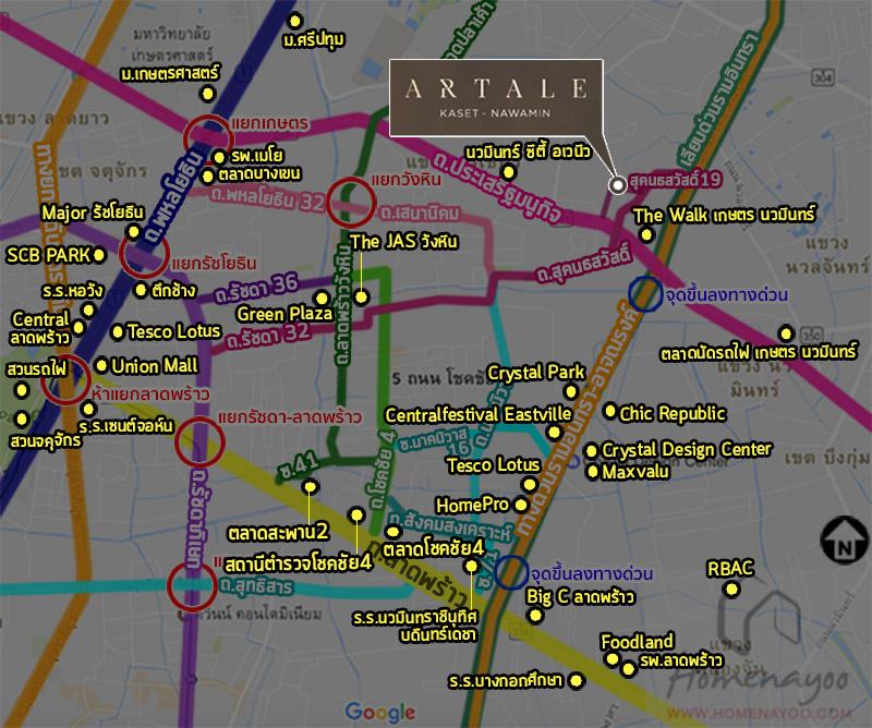 Artale kaset_placemap