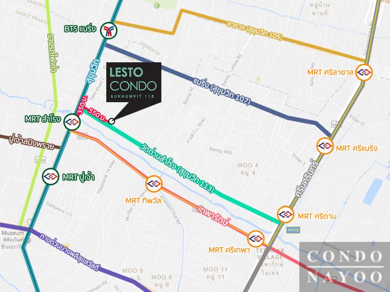Lesto Condo Sukhumvit 113_MAP_0001