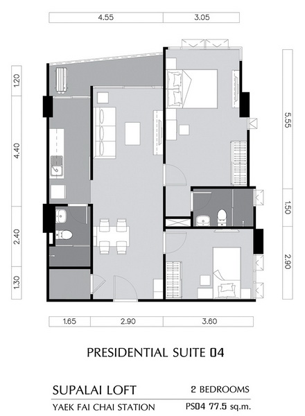 PRESIDENTIAL SUITE 04