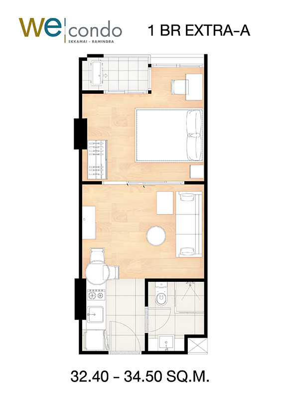 1BR-EXTRA-A