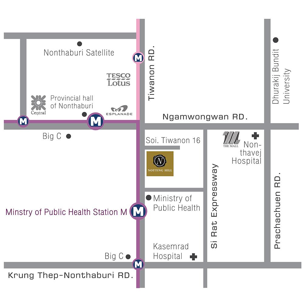 map โครงการ NHT