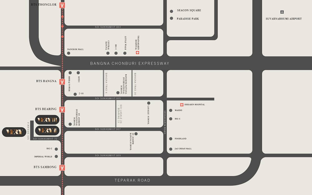 Very III Condo Map