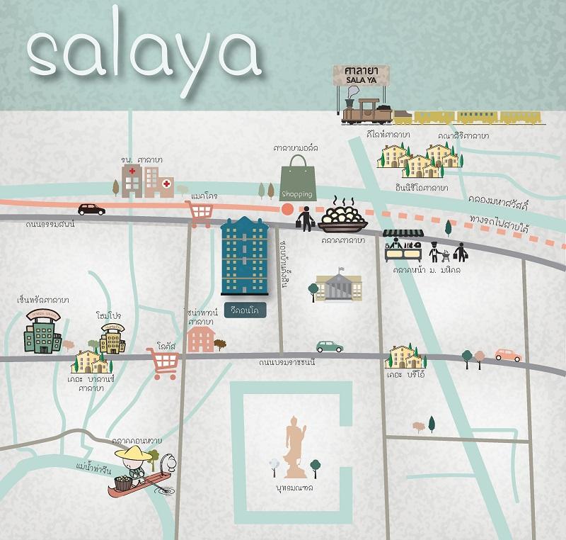 Map V Condo Salaya