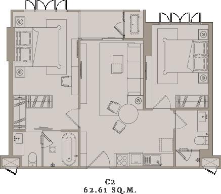 C2_Exclusive_2_Bedroom_New