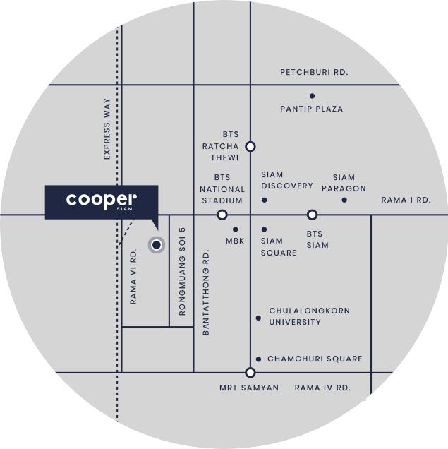 Cooper Siam Map