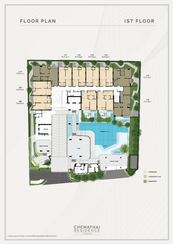cwt thonglor cCWT RES TL 20 TYPICAL FLOOR PLAN FINAL AW (24-09-2018) (create) -03