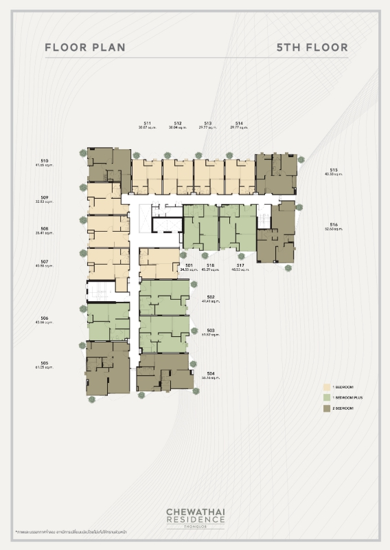 cwt thonglor cCWT RES TL 20 TYPICAL FLOOR PLAN FINAL AW (24-09-2018) (create) -07