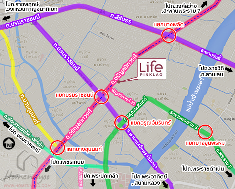 lifepin intersectionmap