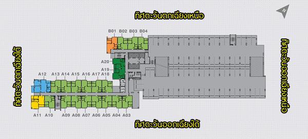 3rd-5th Floor Plan