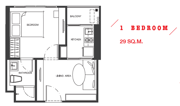 1 Bed 29
