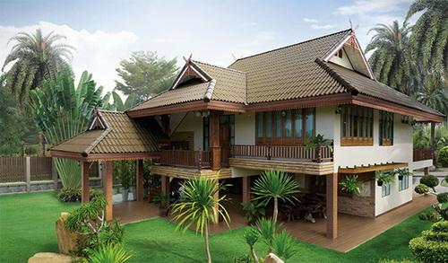 แบบบ้านไทยประยุกต์ เมื่อเรือนไทยประยุกต์ภาคเหนือผสมผสานกับบ้านสมัยใหม่ |  2021 / 2564 รีวิวคอนโด คอนโดใหม่ บ้านเดี่ยว ทาวน์โฮม ทาวน์เฮ้าส์  คอนโดเปิดใหม่, คอนโดพร้อมอยู่ , คอนโด ใกล้-ติด รถไฟฟ้า BTS, รถไฟฟ้าใต้ดิน  MRT, คอนโดมือสอง คอนโดให้เช่า ซื้อ-ขาย ...