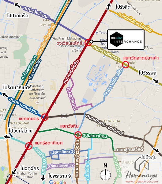 Mapใหญ่ Interchange