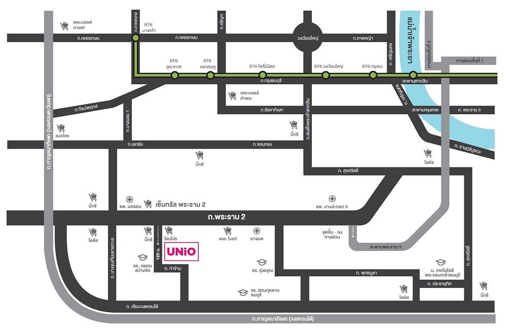 Map Unio rama 2-Thakham