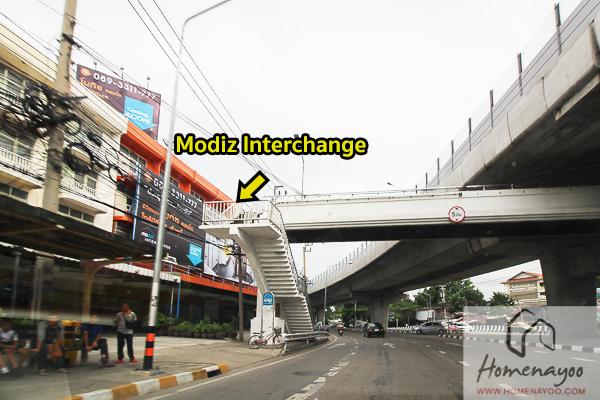 Modiz Station-Route-51