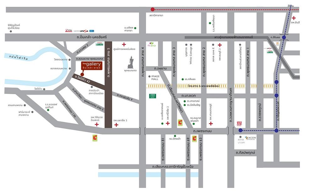 Map The Gallery Pinklao-Sai 5