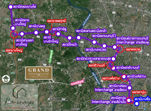 GBKpurple line map