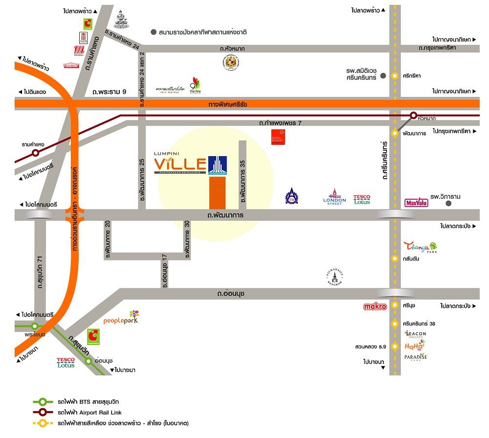 Map LV-PNS