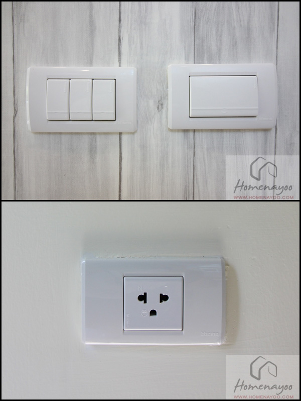 switches and plugs