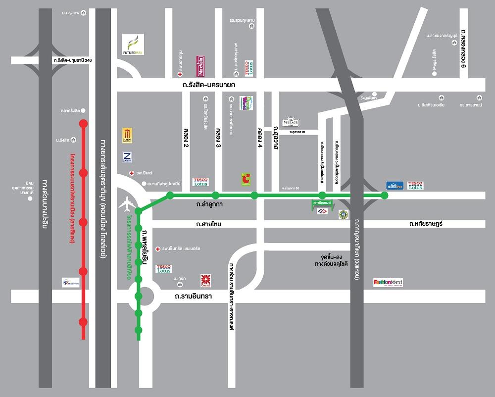 MAP_The-Village_Rangsit-K.4