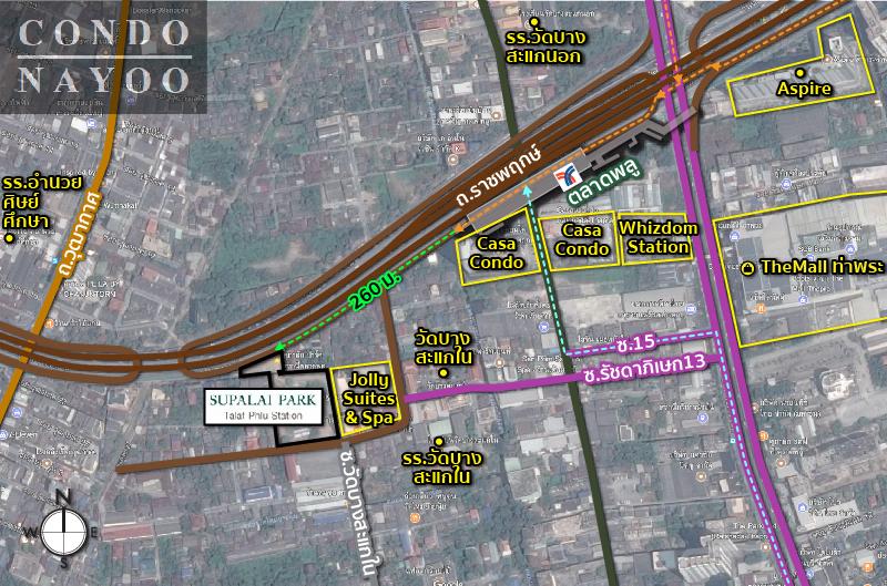 map_condo-Supalai Talad Plu-03